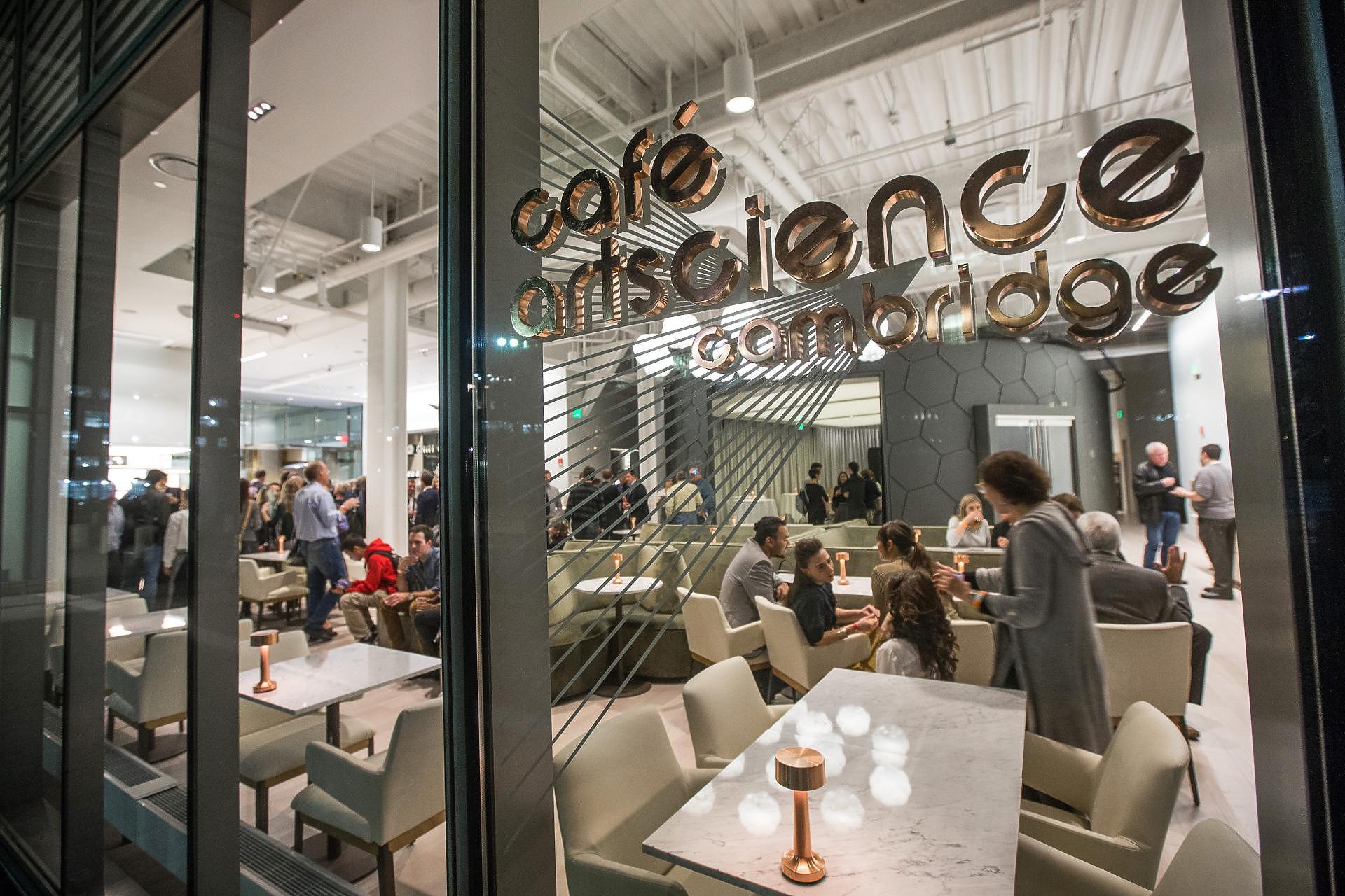 Dimension 8 Lighting – Cafe Art Science